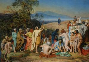 А. А. Иванов. Явление Христа народу. 1837-1857