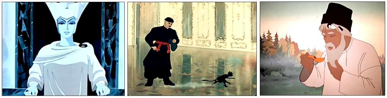 Кадры из советских мультфильмов