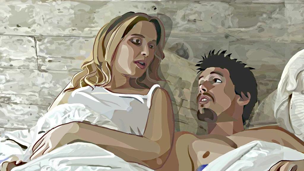 Кадр из фильма «Пробуждение жизни» (2001)