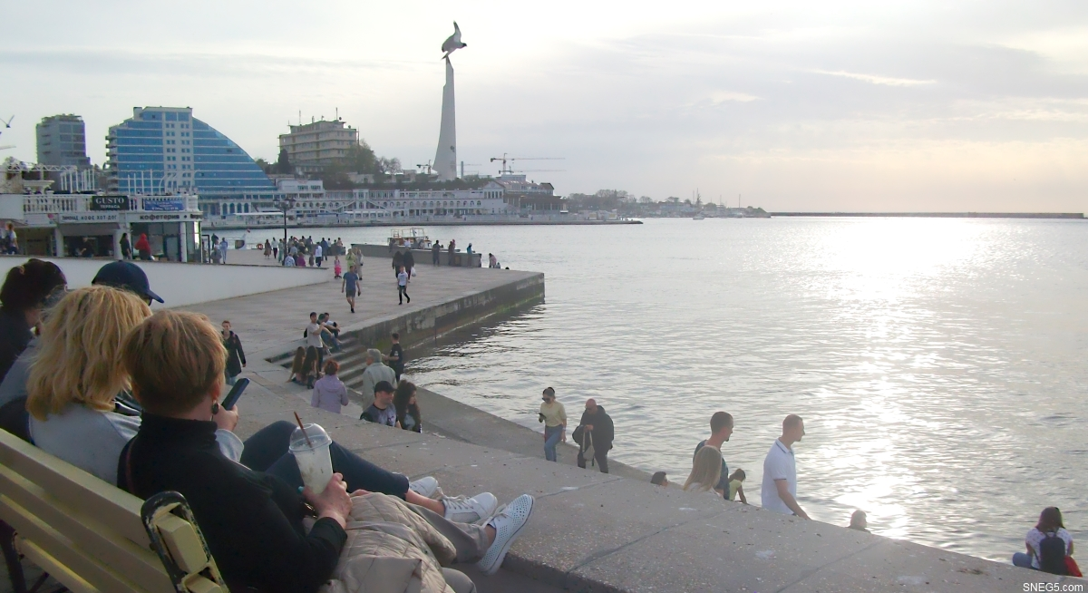 Набережная Приморского бульвара