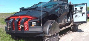 «Фалькатус» — бронеавтомобиль ЦСН ФСБ