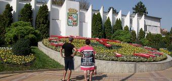 Цветочные часы в Краснодаре — местная достопримечательность