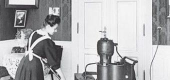 Электродвигатель для пылесоса изобретен в 1891 году