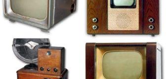 10 советских моделей черно-белых телевизоров