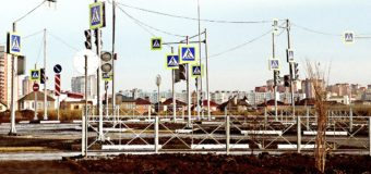 32 светофора на перекрестке в Ростове-на-Дону