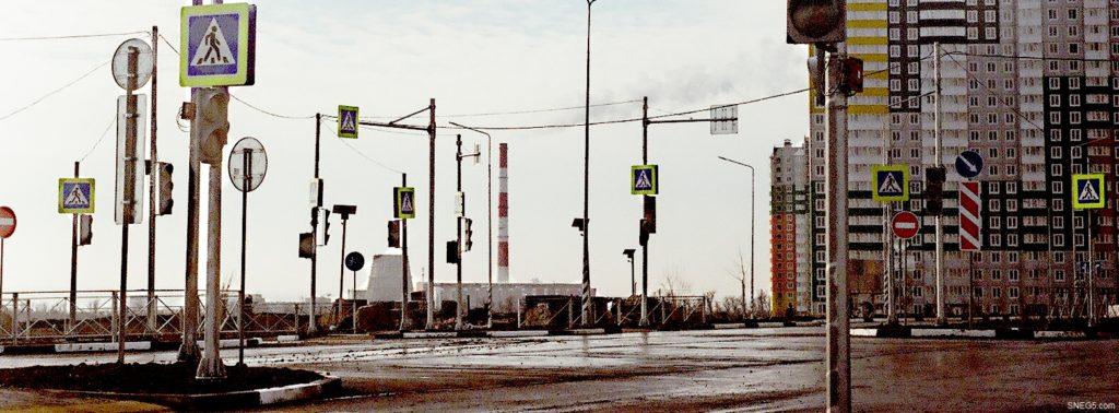Светофоры в Левенцовке