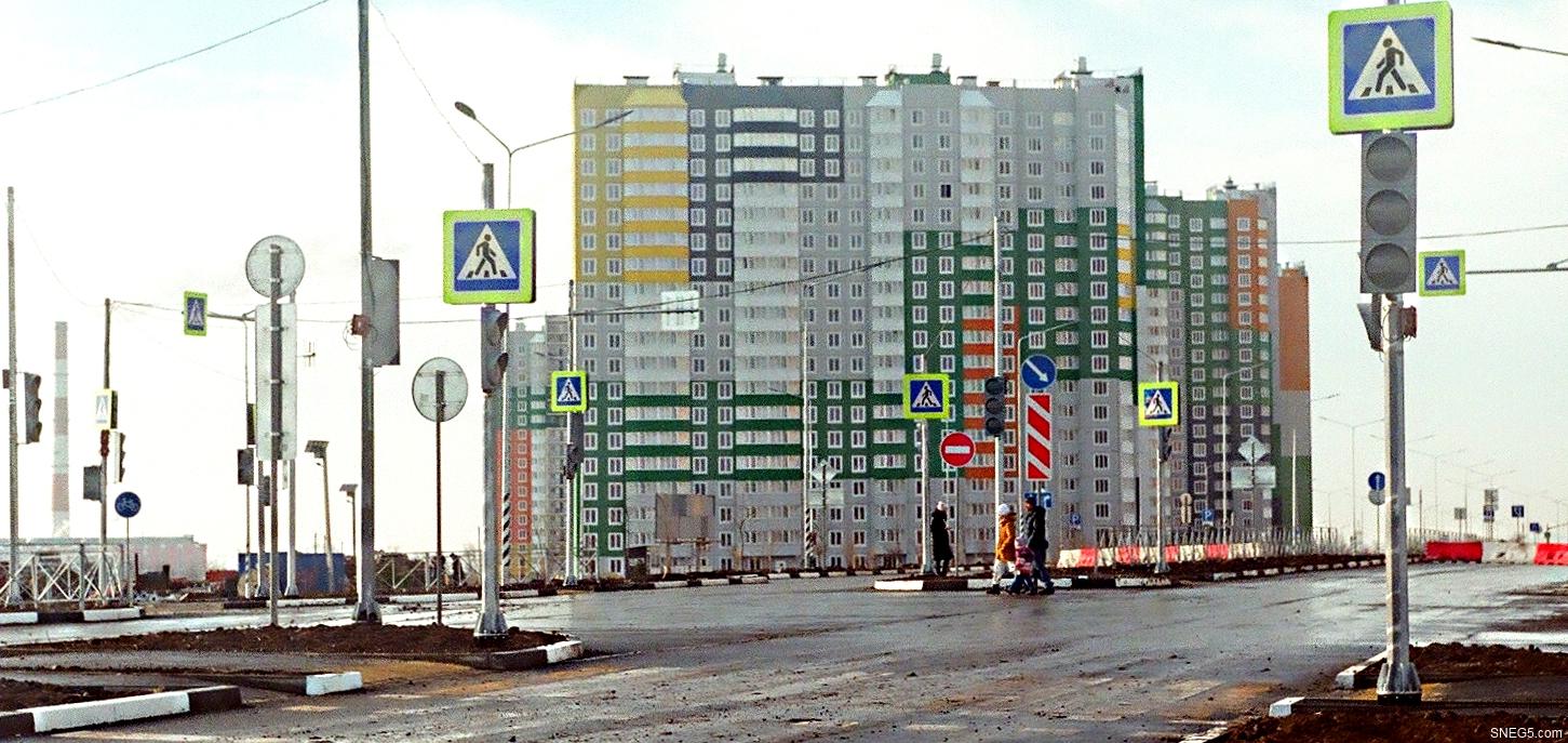 Светофоры в Левенцовке. Ростов-на-дону, январь 2021