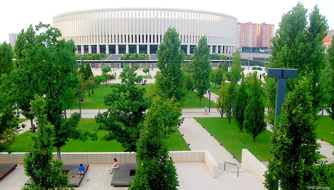 13-2 Стадион «Краснодар». Вид из парка