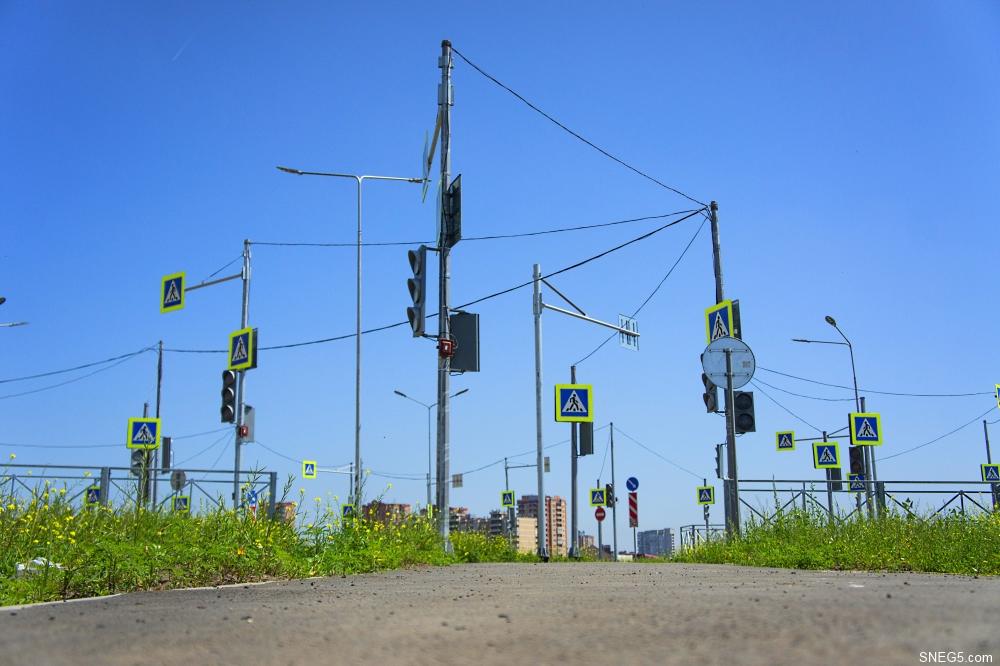 Светофоры в Левенцовке 5