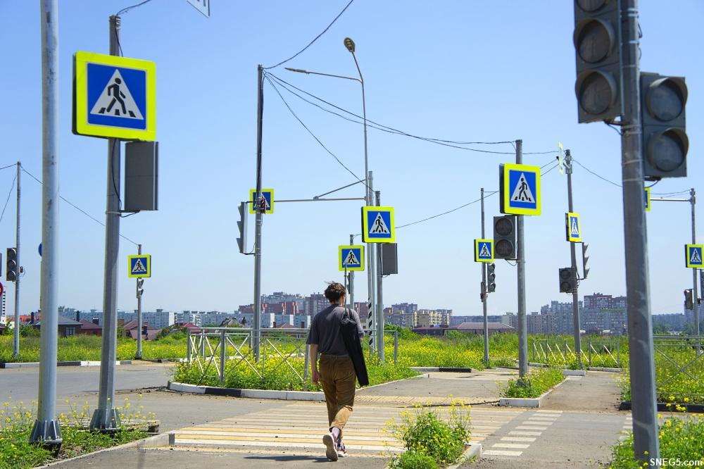 Светофоры в Левенцовке 9
