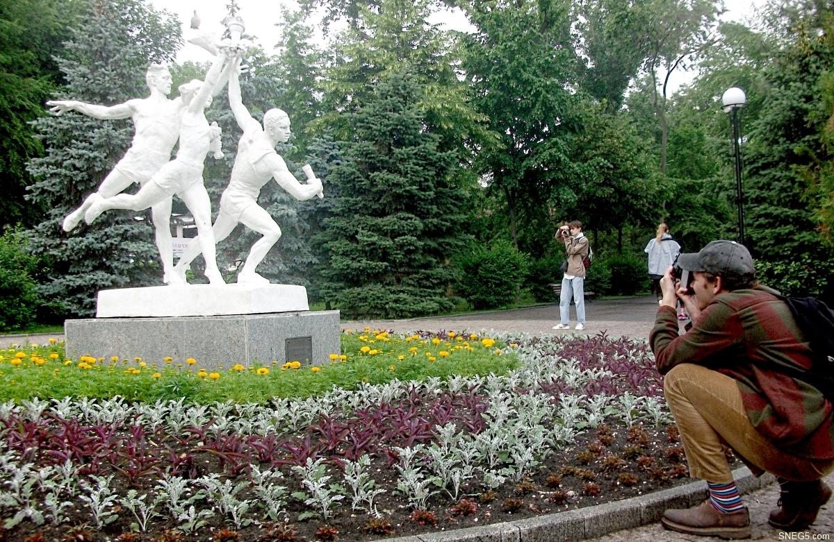 Скульптурная композиция «Спорт»