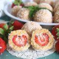 10 клубничных десертов без выпекания