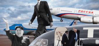 На чём летают президенты