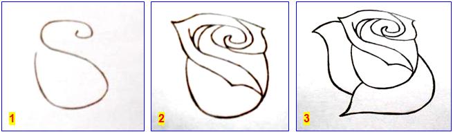 рисуем розу_1-3