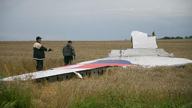 сбитый Боинг MH-17
