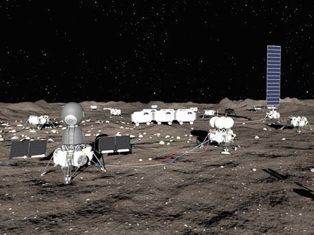 Российская лунная база