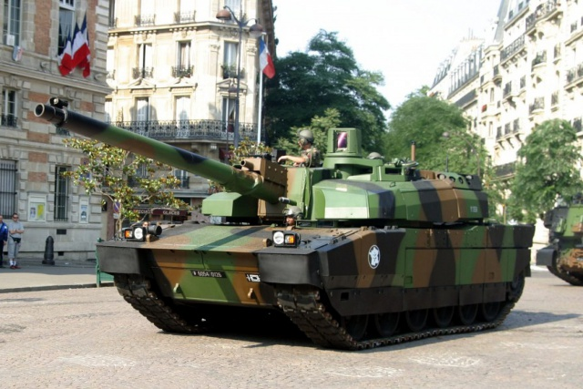 AMX-56 Leclerc (Франция)