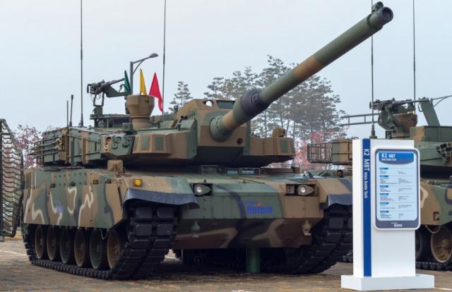 K2 Black Panther (Республика Корея)