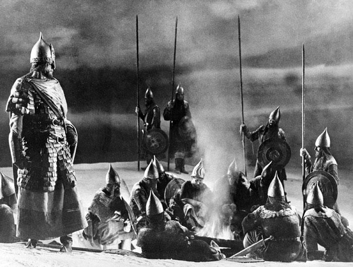 кадр из фильма «Александр Невский», 1970 год