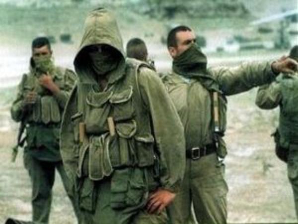Спецназ ГРУ в Чечне