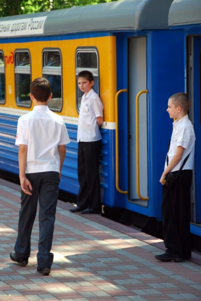 Детская железная дорога в Ростове-на-Дону