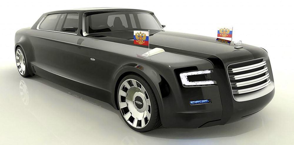 Кортеж - российский лимузин для президента