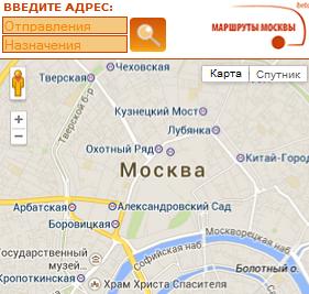 Маршруты Москвы