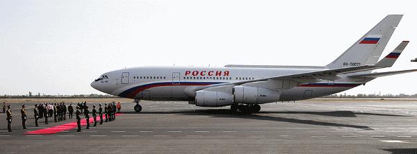 Самолет президента России