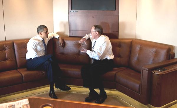 Обама на борту №1