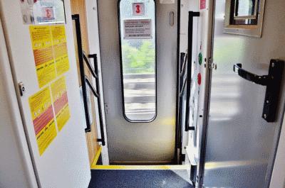 в поезде Москва-Варшава