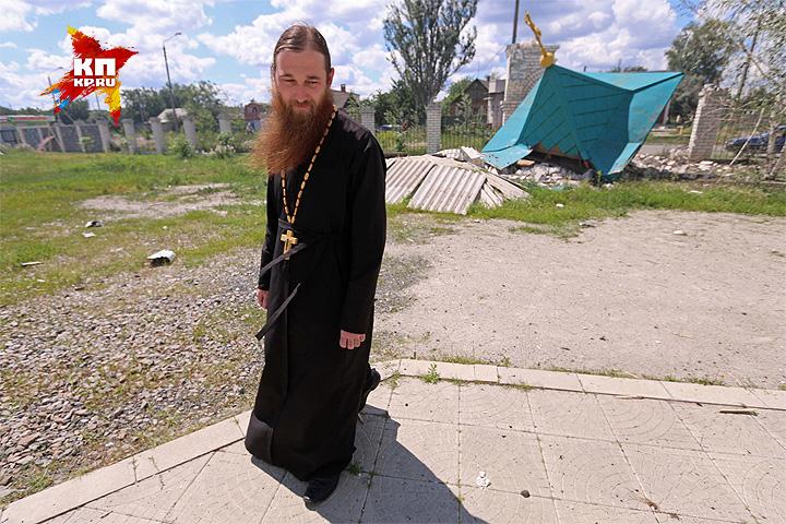 Крым уплыл. Разрушенная в ходе боёв часовня Храма Серафима Саровского в Славянске