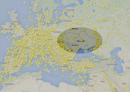 Бывшая транзитная Украина