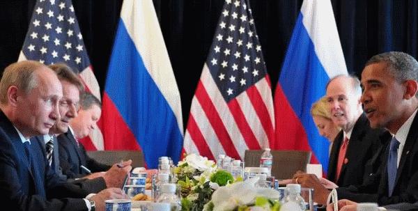 Россия - США. Путин - Обама