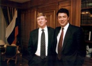 Анатолий Чубайс и Борис Немцов
