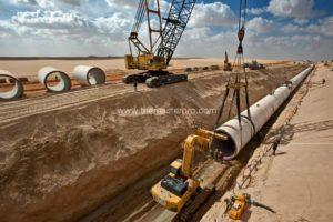 Водопровод Муаммара Каддафи в Ливии 1