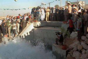 Вода Муаммара Каддафи в Ливии 3