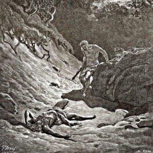 Гюстав Доре. Убийство Авеля Каином