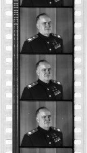 Г.К. Жуков. Кадры из киножурнала «Новости дня» N14 (1945)