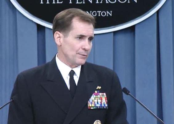 Джон Кирби, официальный представитель госдепа США