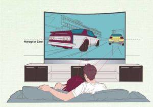 Достоинства и недостатки изогнутых телевизоров