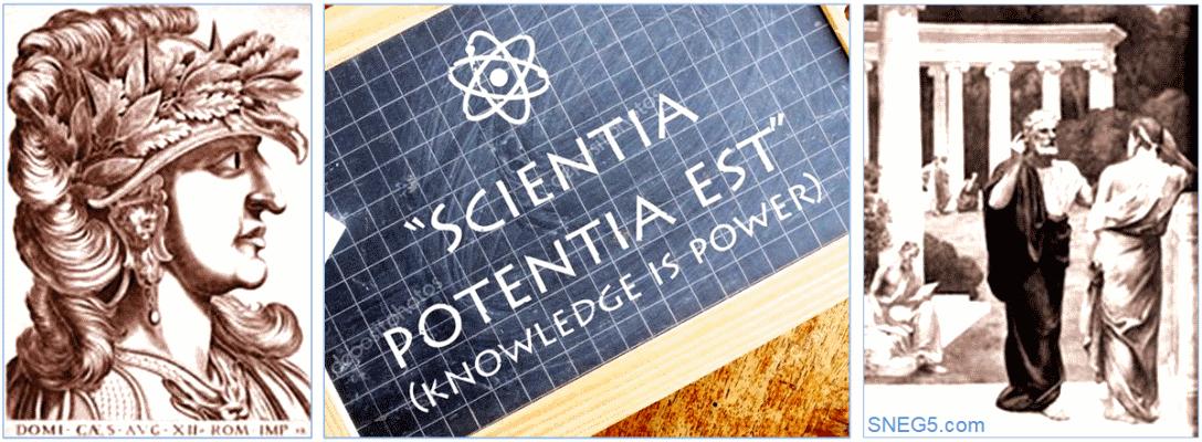 Знание - сила. Крылатые фразы на латыни