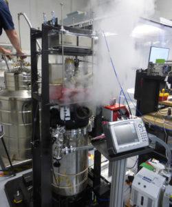 Испытания электромагнитного двигателя