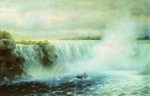 И. К. Айвазовский. Ниагарский водопад. 1893