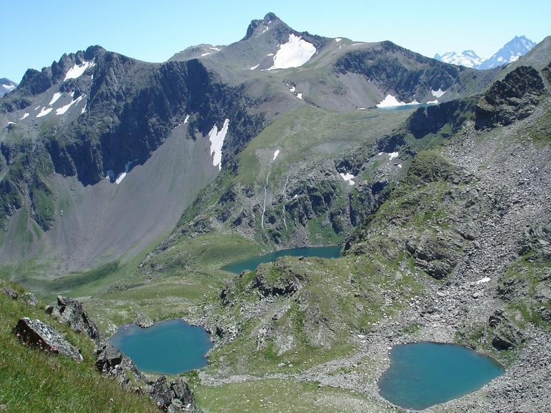 Карово-ложбинные озера в истоках р. Кяфар