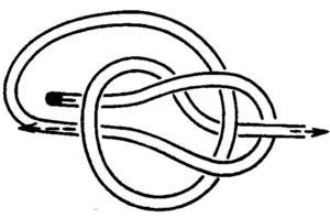 Как завязывать узлы Беседочный булинев узел
