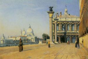 К. Коро. Утро в Венеции. 1834