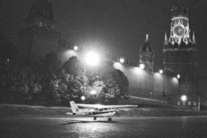 Матиас Руст - самолет на Красной площади