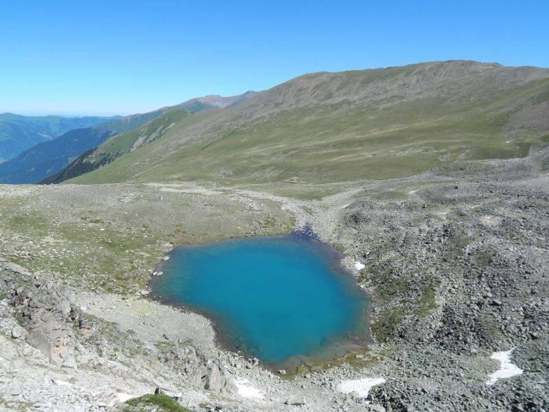 Обследование озер и ледников долины реки Оручат и Горалыкол