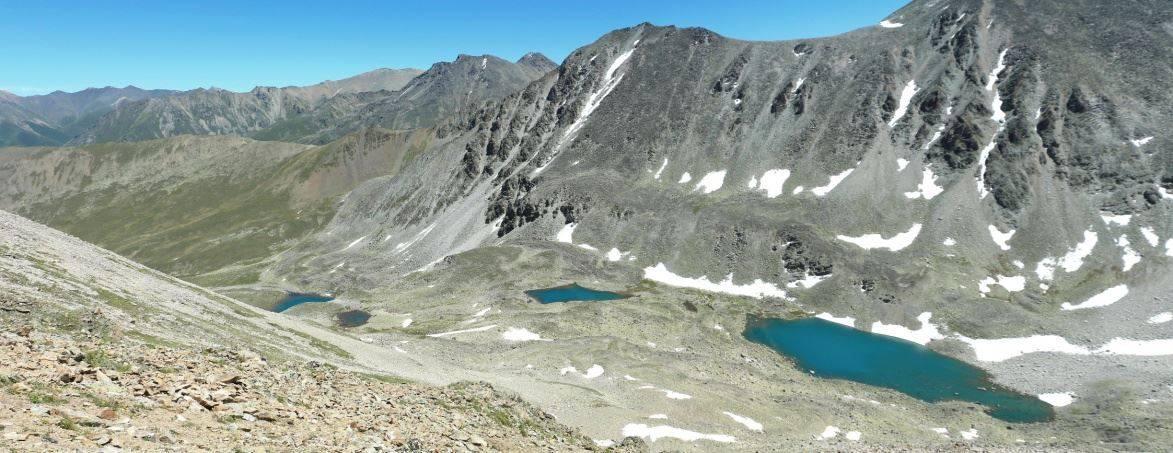 Обследовано 63 озера Тебердинского заповедника