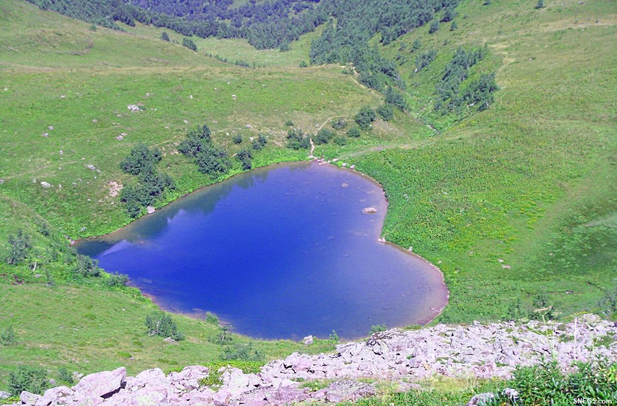 Овеянное легендой озеро Любви